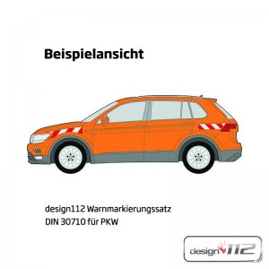 Warnmarkierungssatz Ford Focus Turnier, 2011 - 10/2014