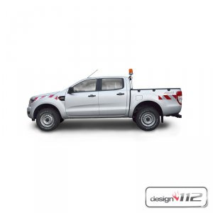 Warnmarkierungssatz Ford Ranger Pick-Up, ab 02/2016
