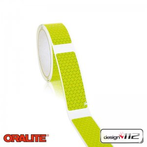 design112 Flexi-Gaps, Lime - Oralite VC612 Flexibright, 15 m Länge