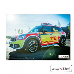 design112 Poster - Mini Countryman - First Responder