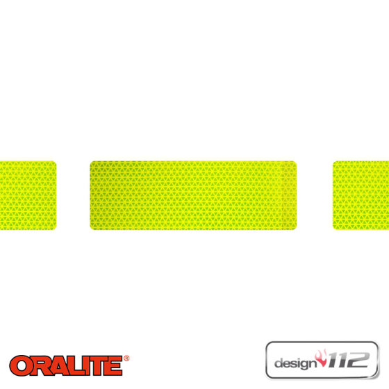 design112 Maxi Flexi-Gaps, Lime - Oralite VC612 Flexibright, 15 m Länge