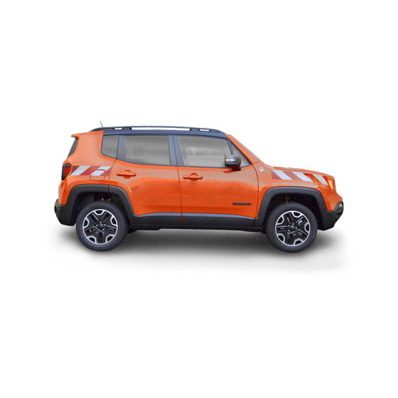 Jeep Renegade, 2014/08 - | Warnmarkierungssatz